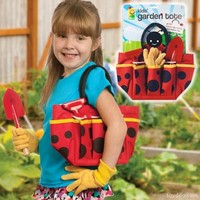 Ladybug Garden Tote with Tools - Toysmith - Pack of 4 sets