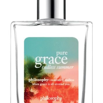 philosophy pure grace endless summer eau de toilette (Limited Edition) | Nordstrom