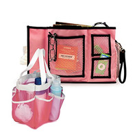 Honey-Can-Do Quick Dry Shower Tote and Bed Side Organizer, for Home, College, or Travel