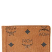 Women's MCM 'Heritage' Money Clip - Brown