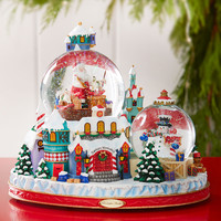Christopher Radko North Pole Workshop Snowglobe