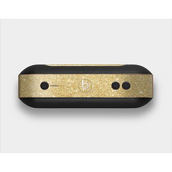 The Gold Glitter Ultra Metallic Skin Set for the Beats Pill Plus