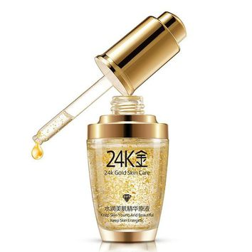 EFINNY Anti Aging Wrinkle Firming Moisturizing Skin Face Cream 24K GOLD collagen Liquid
