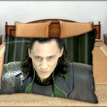 "LOKI From Thor The Dark World Marvel The Avengers Superheroes - 20 "" x 30 "" inch,Pillow Case and Pillow Cover."