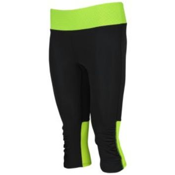 Under Armour Heatgear Fly-By Compression Run Capri - Women's at Lady Foot Locker