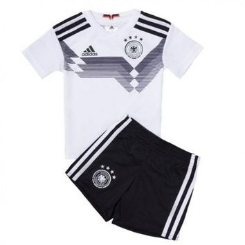 KUYOU Germany 2018 World Cup Home Kids(Youth) Kit Personalized Name and Number