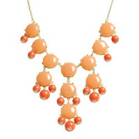 Bubble Necklace,Statement Necklace, Bubble Jewelry(Fn0508-Cinnamon) | AihaZone Store