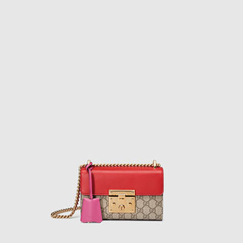 Gucci - Padlock GG Supreme Shoulder Bag 409487KLQIG9784
