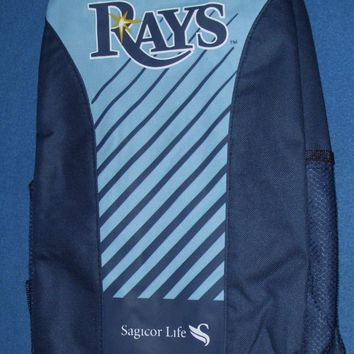 Tampa Bay Rays Backpack ~ Great for Game Day, School, all kinds of activities