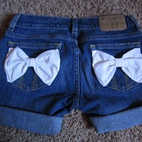 Lace Bow Shorts Size 1-3