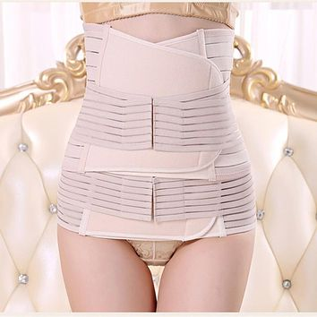 Women Maternity Set Maternity Postnatal Belt After Pregnancy bandage Belly Band waist corset Pregnant Women Slim