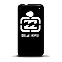 billabong logo surfing clothing HTC One M7 Case