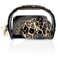 Leopard Cosmetic Bag Trio - Victoria's Secret - Victoria's Secret