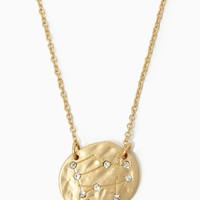 Gemini Constellation Necklace   Gold Charm Jewelry   charming charlie