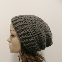 Everyday Slouch Hat  Charcoal Gray