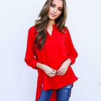Red Hot Blouse