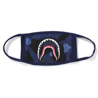 COLOR CAMO SHARK MASK MENS
