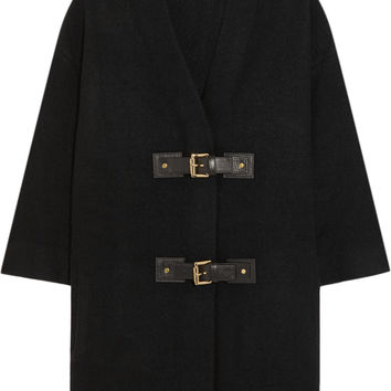 MICHAEL Michael Kors - Oversized boiled wool cardigan