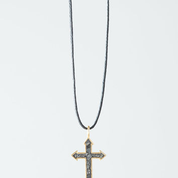 "Haya Elfasi 19.5"" Cross Necklace"