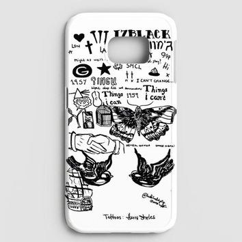 1D Harry Styles Tattoos Samsung Galaxy Note 8 Case