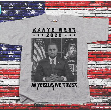 Kanye West For President 2020 - Kanye Shirt. Kanye Jumper. Yeezus 2020  - Pick Your Size S - 3XL!!!