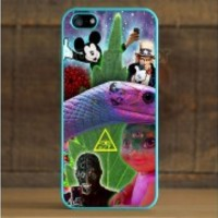 Fits Apple iPhone 5 WTF Trippy Unusual Weird Strange Case Cover Protector Clever