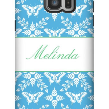 Personalized Butterfly Galaxy Note 5 Extra Protective Bumper Case