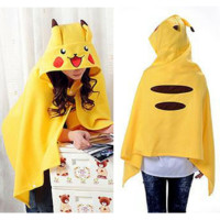 Pokemon Pikachu Homewear Shawl Cape CP154241