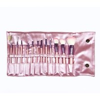 SET 683 - 12 PIECE PINK VEGAN BRUSH SET