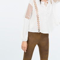 Faux suede skinny jeans