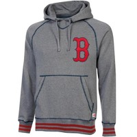 Stitches Boston Red Sox Brush Pullover Hoodie - Heathered Gray