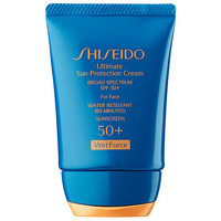 Ultimate Sun Protection Cream Broad Spectrum SPF 50+ Wetforce For Face - Shiseido | Sephora