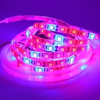 5M DC12V 60led m 5050 LED Grow Flexible Strip Tape Light 3:1 3 Red 1 Blue Aquarium Greenhouse Plant Growing Lamp