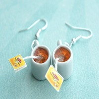 Lipton Tea Earrings
