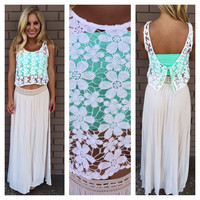 Beach Babe Daisy Crochet Top