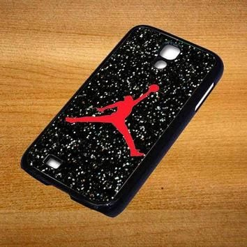 Nike Air Jordan Logo For Samsung Galaxy S4 Case *76*