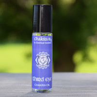 "Third Eye Chakra Oil - ""I Trust My Intuition"" - Expand Your  Psychic Senses"