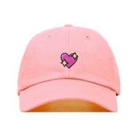 Heart Emoji Dad Hat