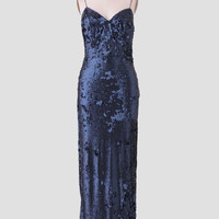 Seymour Sequin Maxi Dress By Line & Dot
