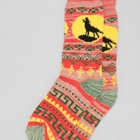 Southwest Camp Sock