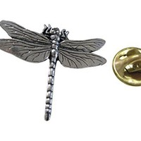 Large Dragonfly Lapel Pin [Jewelry]