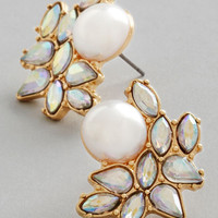 ModCloth Luxe Photo Opulence Earrings in Gold