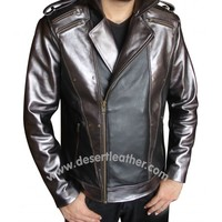 X-Men Apocalypse Quicksilver Jacket - Desert Leather