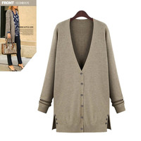 cardigan wool sweater Picture - More Detailed Picture about 2014 fashion plus size clothing autumn medium long wool knitted cardigan, slim sweater,Cardigan Picture in from SUNRISE Love Fashion Store. Aliexpress.com | Alibaba Group