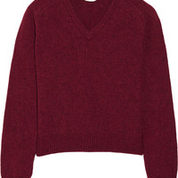 Saint Laurent - Wool and cashmere-blend sweater