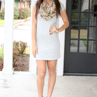 Basic Must Have Dress - grey