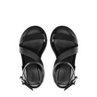 Stylish Design Summer Thick Crust Shoes Flat Sandals [4918359748]