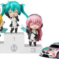 Good Smile Company - Racing Miku Mini Figures Nendoroid Petite Racing Miku Set 7 cm