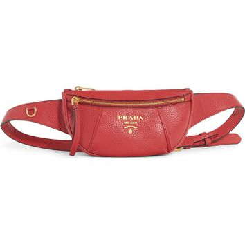 Prada Daino Leather Belt Bag | Nordstrom
