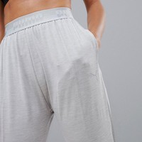 Puma Soft Sport Drapey Pants In Gray at asos.com
